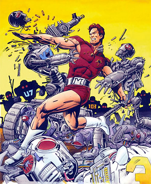 Magnus Robot Fighter (Valiant Comics 1990s)