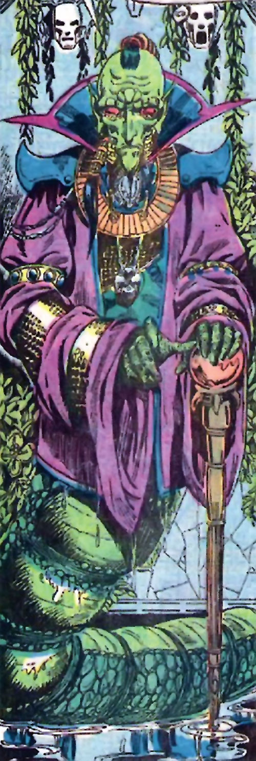 Mahan Khanda (Claw the Unconquered enemy) (DC Comics)