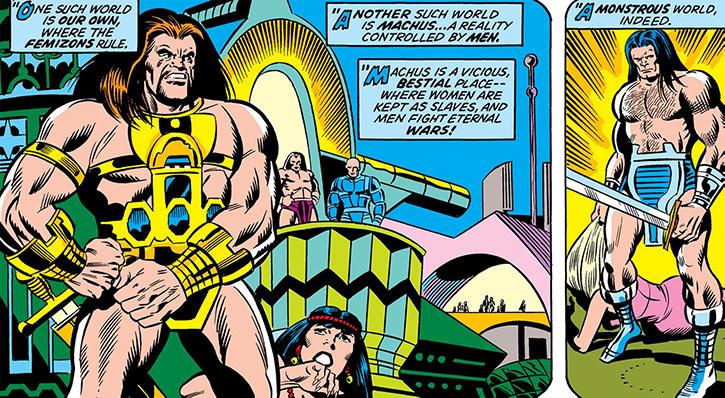 Mahkizmo (Marvel Comics) (Fantastic Four) world of Machus