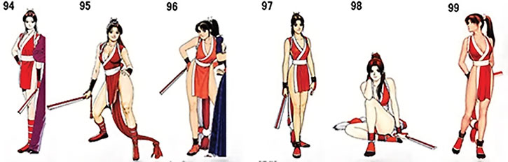 Mai Shiranui mini-gallery part 3