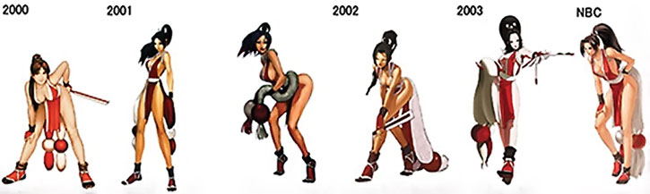 Mai Shiranui mini-gallery part 2