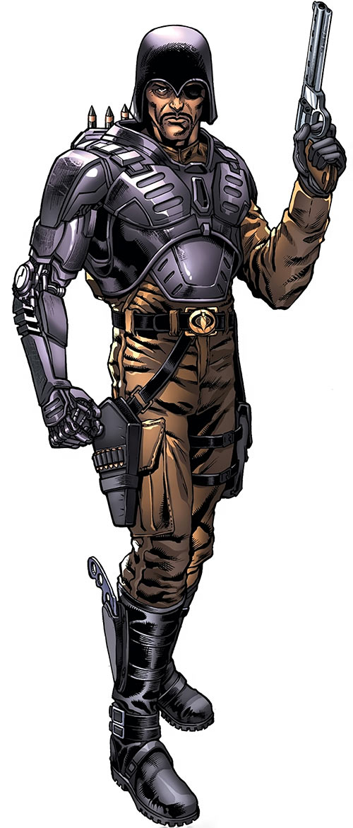 Major Bludd (G.I. Joe enemy) from the 2017 Hasbro Heroes sourcebook