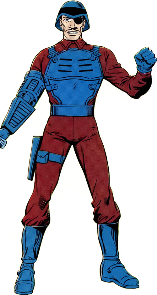 Major Bludd (GI Joe) from the old Marvel handbook