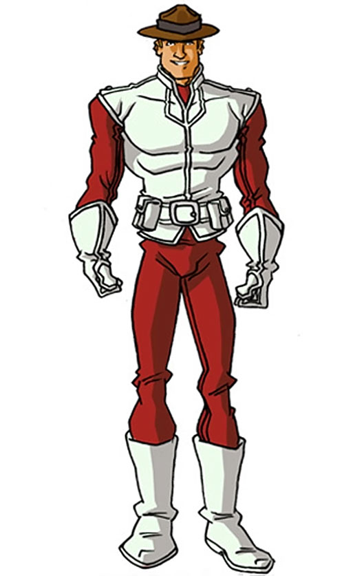 Major Mapleleaf of Alpha Flight (Marvel Comics) by RonnieThunderbolts, with his hat