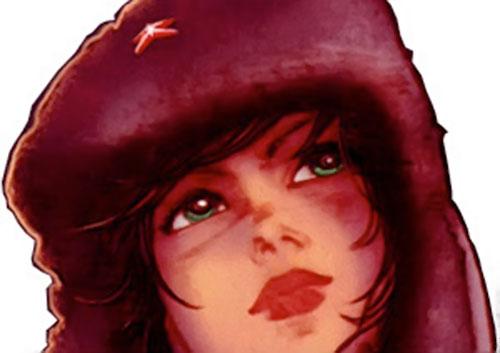 Makita (Red Star comics) and ushanka