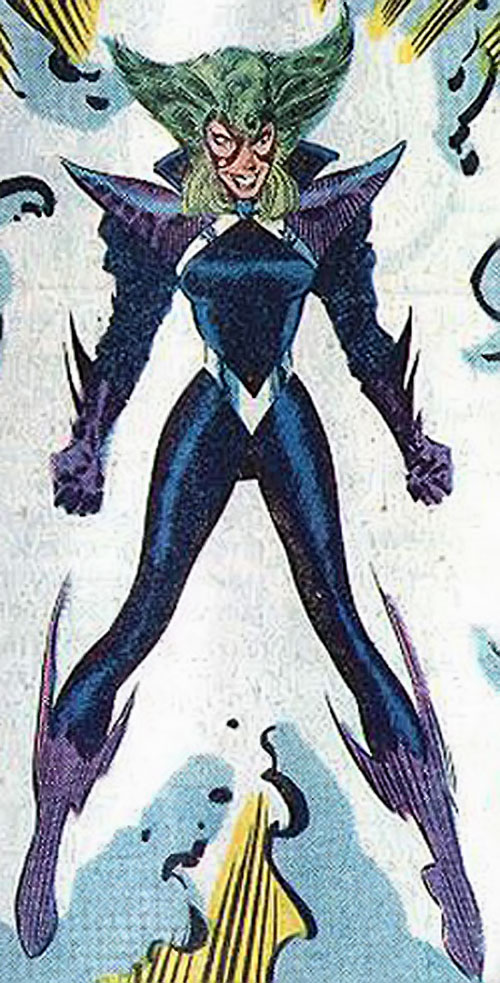 Malice of the Marauders (Marvel Comics) possessing Polaris