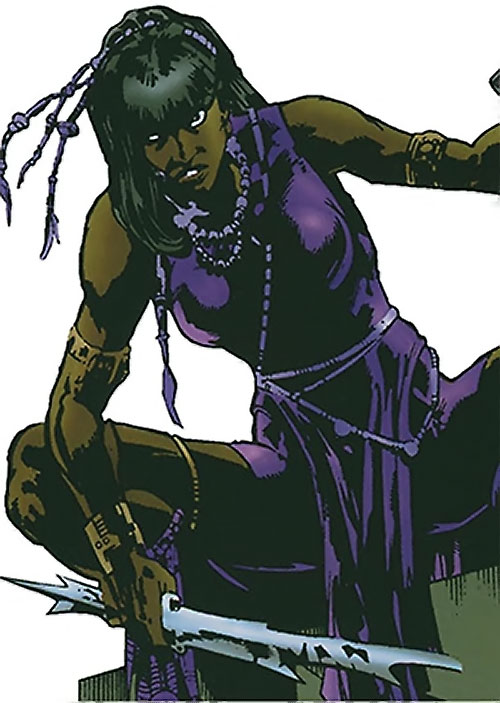 Malice (Black Panther enemy) (Marvel Comics) (Nakia)