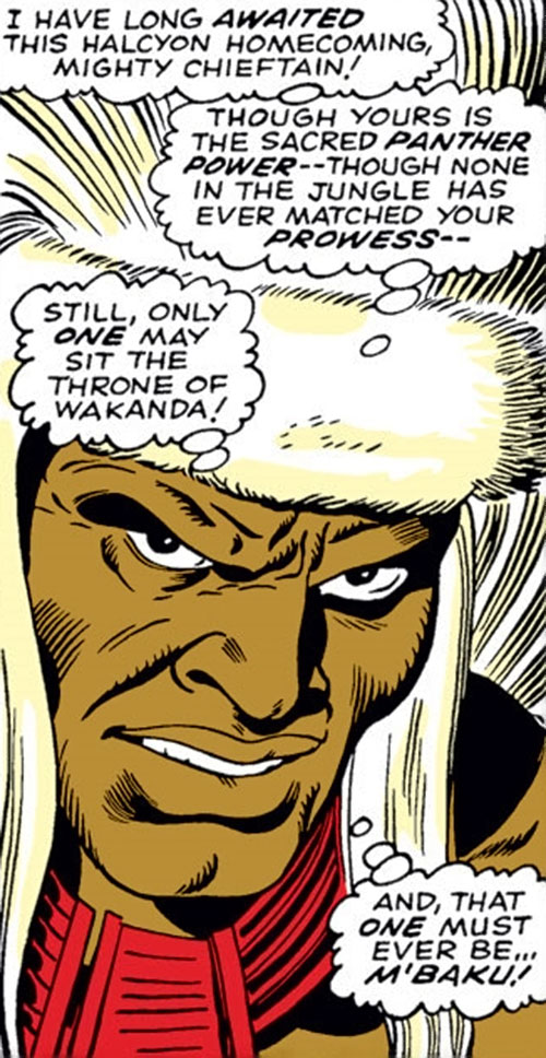 Man-Ape (Marvel Comics) (Black Panther character) with a furry hat