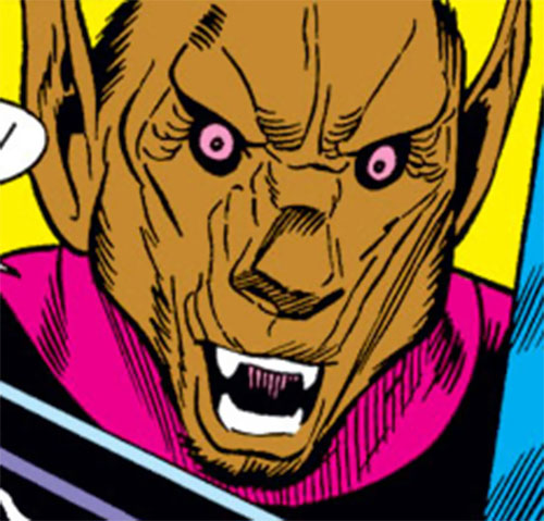 Man-Beast (Adam Warlock / Thor enemy) (Marvel Comics) (Wolf) monkey-like face