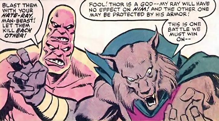 Man-Beast and Bi-Beast