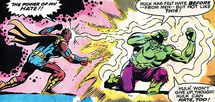 Man-Beast vs. the Hulk