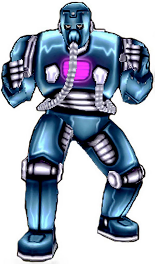 Man-Bot of the Freedom Force character model