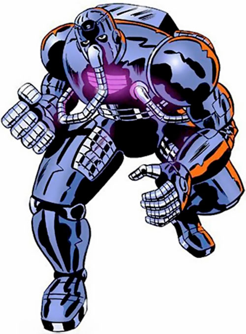 Man-Bot of the Freedom Force