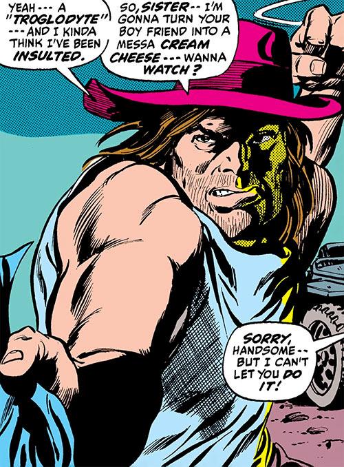 Man-Bull (Marvel Comics) (1970s appearances) human form