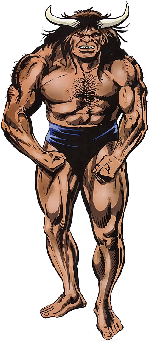 Man-Bull (Marvel Comics)
