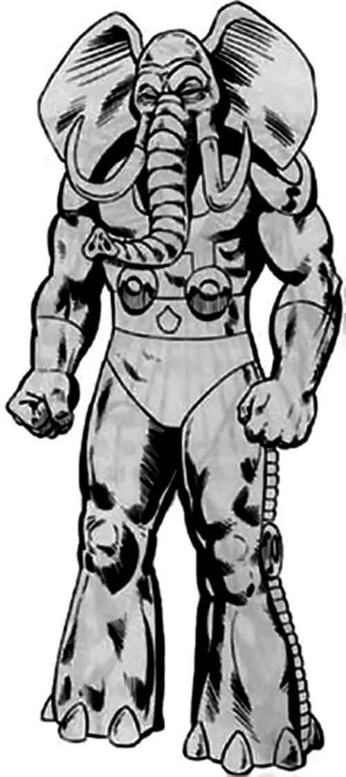 Man-Elephant (Marvel Comics) in B&W