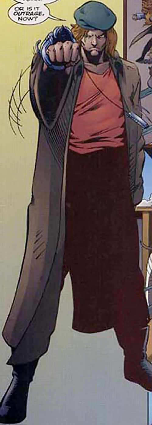 The Man with the Harmonica (Ultraverse Malibu comics) with a beret
