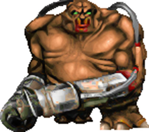 "Mancubus - Doom video game monster - ""Character profile ..."