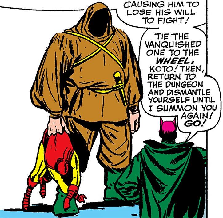Mandarin - Marvel Comics - Iron Man enemy - Early era