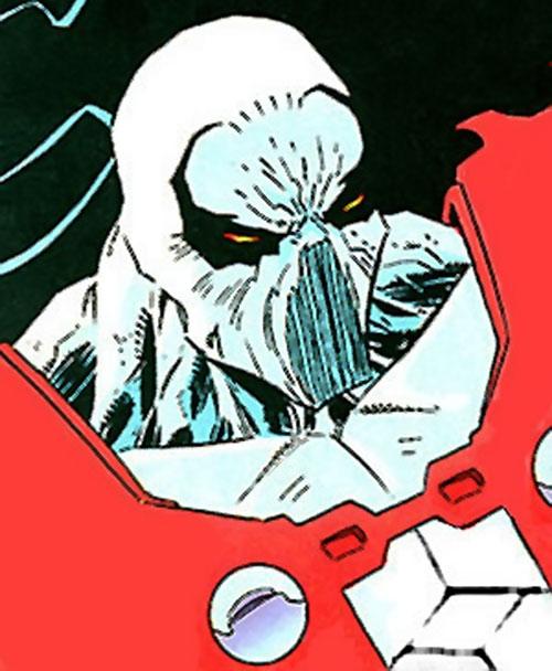 Manhunter (Chase Lawler) (DC Comics) head closeup
