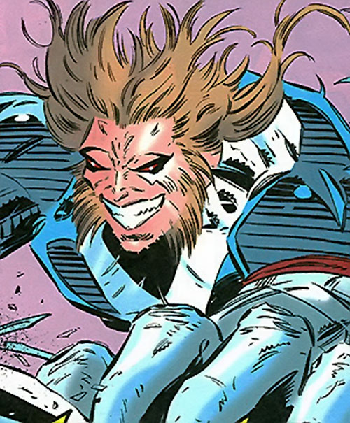 Manhunter (Chase Lawler) (DC Comics) in bestial form