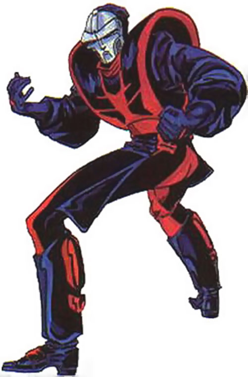 Manhunter (Mark Shaw) in costume