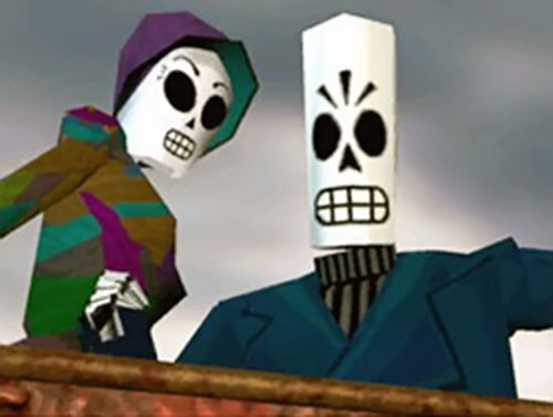Manny Calavera (Grim Fandango video game) and Meche