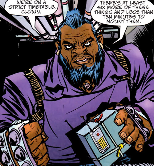 Manslaughter Marsdale (Marvel Comics) modern appearance with demolition charge