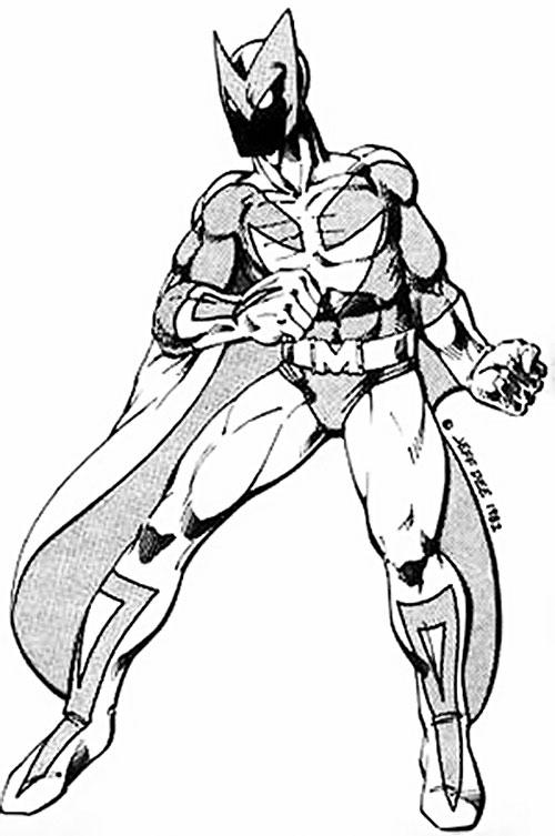 Manta-Man (Villains & Vigilantes RPG) (Crisis at Crusaders Citadel)