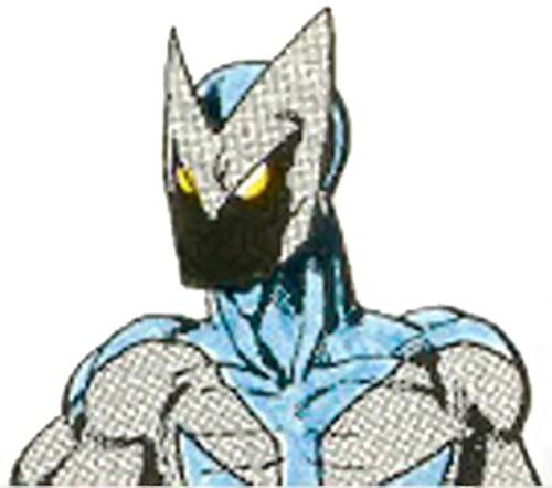 Manta-Man (Villains & Vigilantes RPG) (Crisis at Crusaders Citadel) face color
