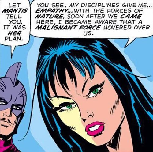Mantis (Marvel Comics) (Avengers) portrait
