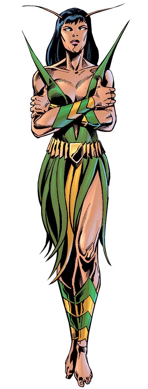 Mantis (Marvel Comics) (Avengers) early cosmic appearance