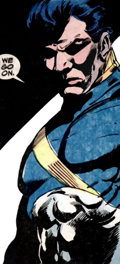Marathon of the Strikeforce Morituri (Marvel Comics)