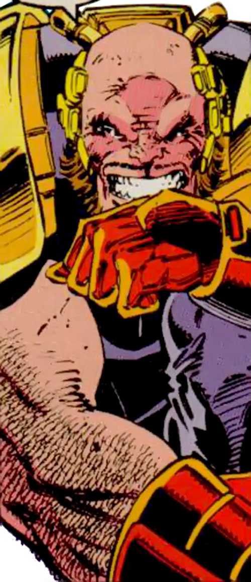 Delgado of the Acolytes of Magneto (X-Men enemy) (Marvel Comics)