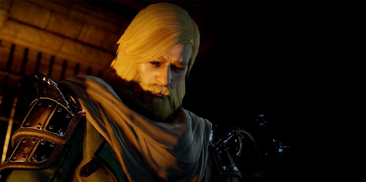 Maric Theirin - Dragon Age - The Stolen Throne - Underground looking down