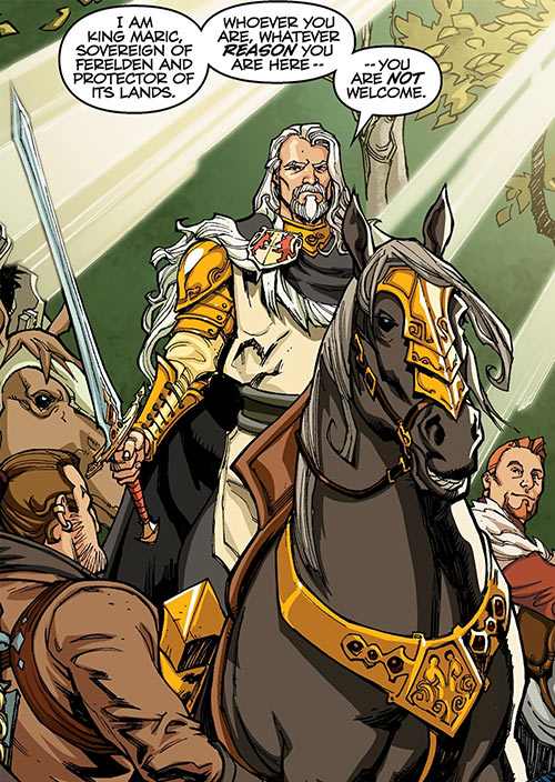 King Maric of Ferelden - Dragon Age The Calling and comics