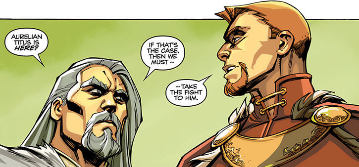 King Maric of Ferelden - Dragon Age The Calling and comics - With Alistair