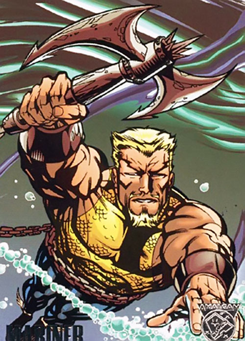 Mariner (Amalgam of Namor and Aquaman)