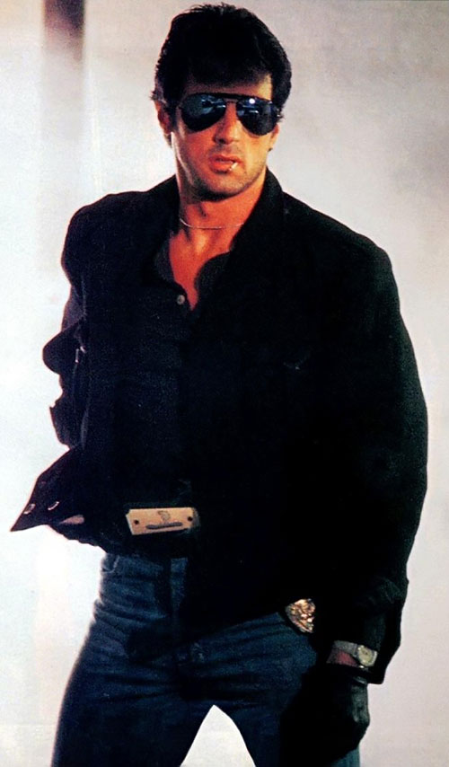 Marion Cobretti (Sylvester Stallone in Cobra)