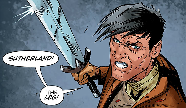 Marius the Magekiller - Dragon Age comics - Rucka - Yelling orders