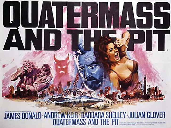 Movie poster for Quartermass and the Pit