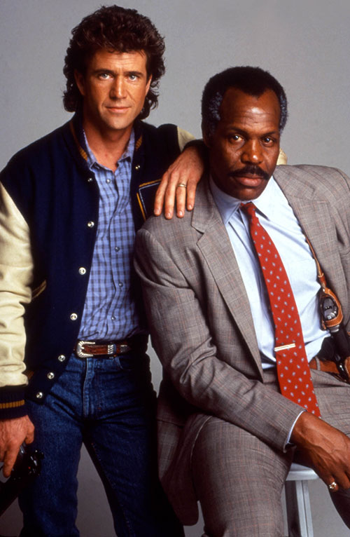Martin Riggs (Mel Gibson in Lethal Weapon movies) and Roger Murtaugh