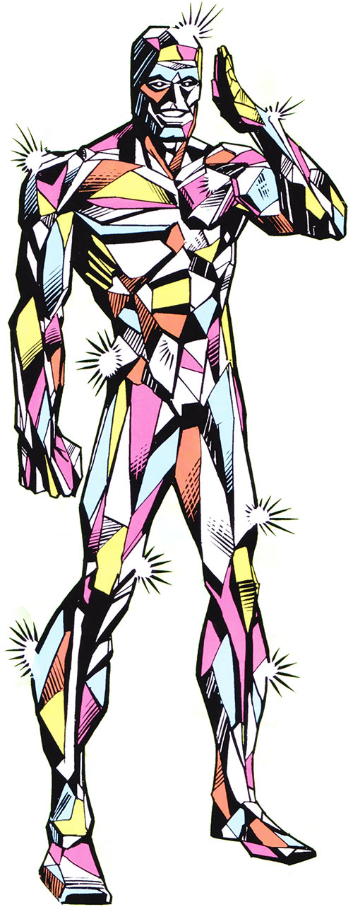 Martinex of the Guardians of the Galaxy (Marvel Comics) from the 1983 handbook