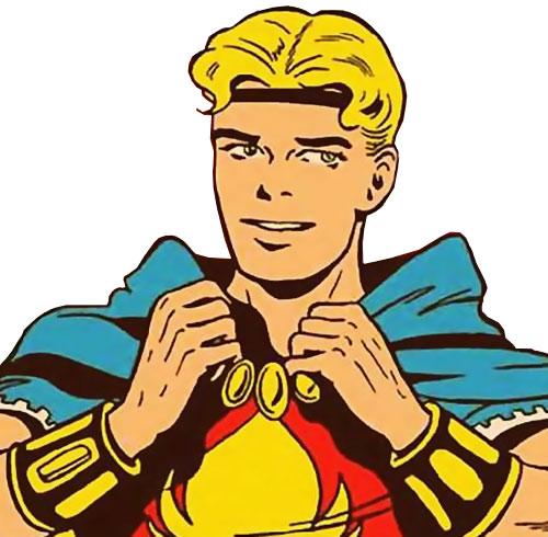 Marvel Boy of the 1950s (Atlas Comics) portrait
