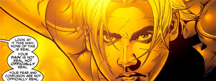 Marvel Boy (Noh-Varr) face closeup