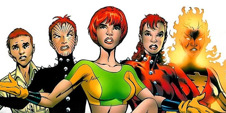 The various appearances of Rachel Grey Summers aka Phoenix