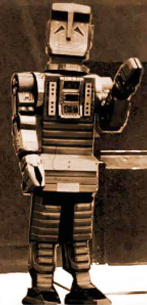 Marvin the paranoid android (boxy version)