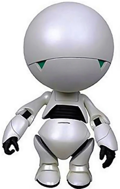 Marvin the paranoid android (modern version)