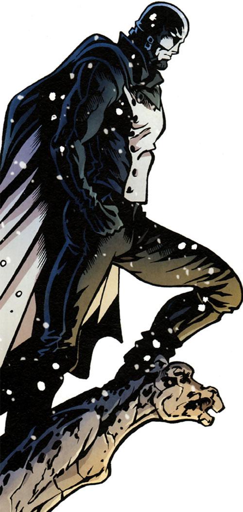 Masqué (bande dessinée, Ch. Lehman) - L'Optimum sur une gargouille