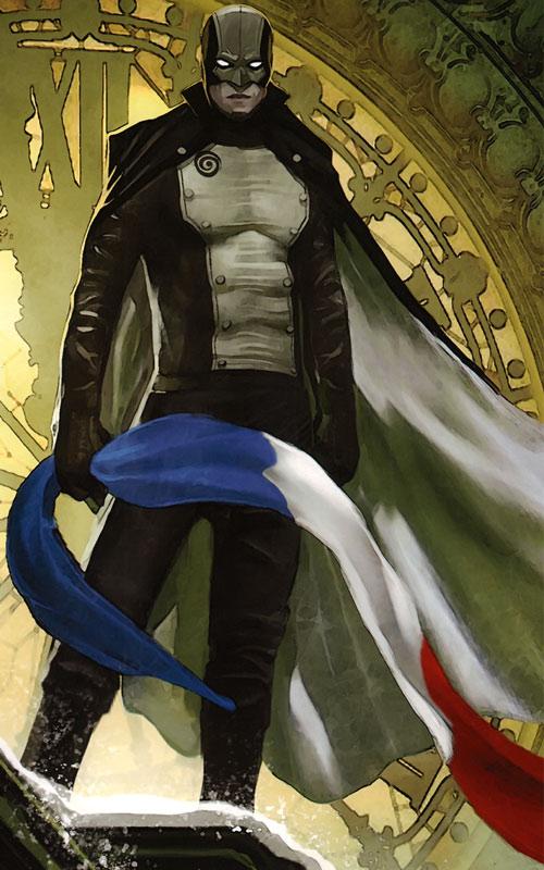 Masqué (bande dessinée, Ch. Lehman) - L'Optimum avec le drapeau